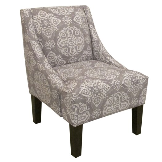 Skyline Furniture Swoop Jakarta Arm Chair