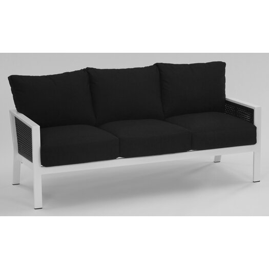 Koverton Parkview Woven Deep Seating Sofa with Cushions