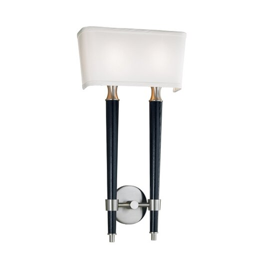 Double Light Wall Sconces : ILEX Lighting Firenze 2 Light Double Wall Sconce 1