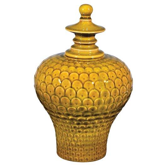 Sterling Industries Large Lidded Decorative Urn