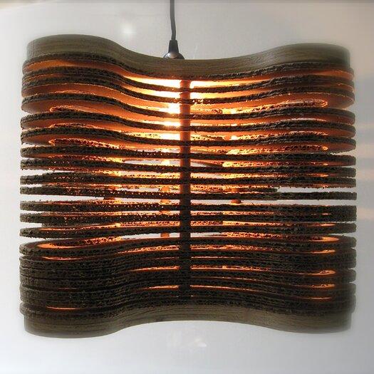 Shiner International Clover Hanging 1 Light Mini Pendant