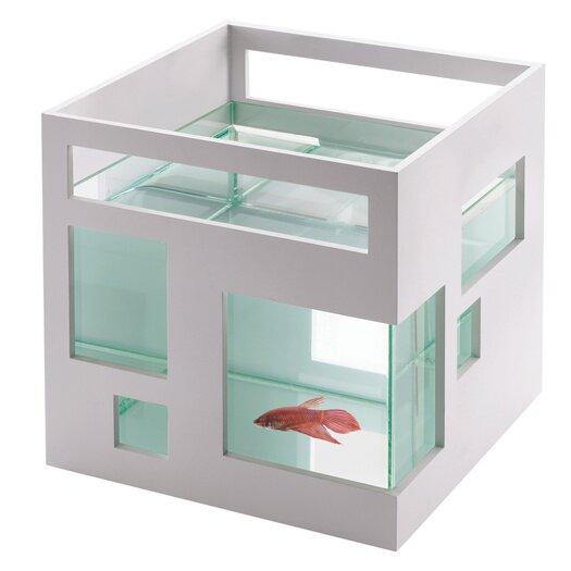 Umbra Fishhotel 1.3 Gallon Aquarium Bowl