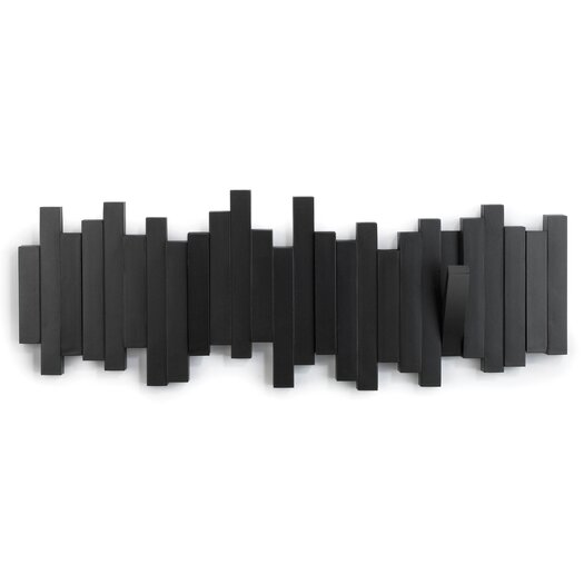 Umbra sticks 5 hook wall mounted coat rack - Porte manteau mural ikea ...