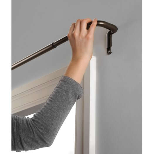 Umbra Twilight Single Curtain Rod and Hardware Set