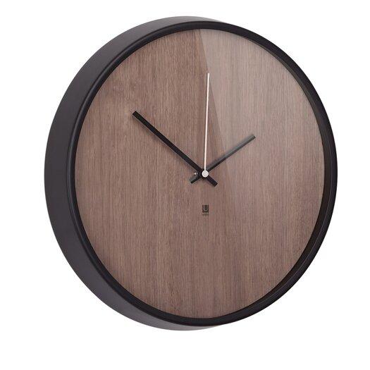 """Umbra Madera 12.75"""" Wall Clock"""