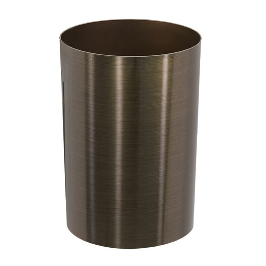 Metalla 3 gal. Trash Can