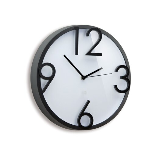 "Umbra 12.5"" Time Off Wall Clock"