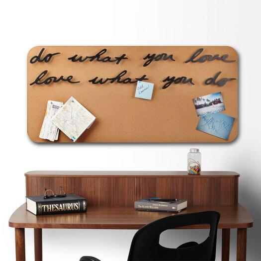Umbra Loft Wall Decor : Umbra mantra do what you love wall d?cor allmodern