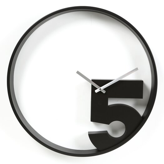 "Umbra Take 5 20.5"" Wall Clock"