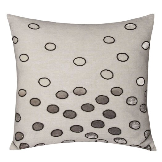 Kevin O'Brien Studio Ovals Embellished Throw Pillow