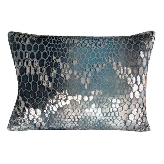 Kevin O'Brien Studio Snakeskin Velvet Lumbar Pillow