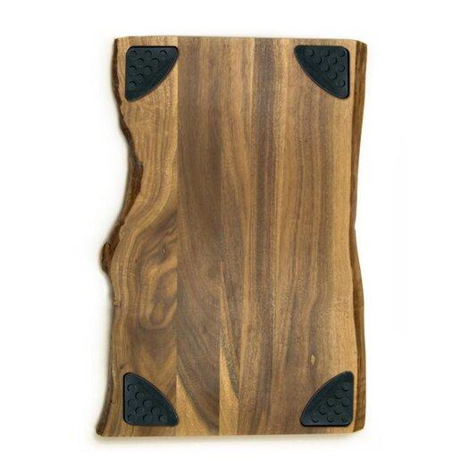 """Architec Acacia Raw Edge 17"""" x 11"""" Gripper Cutting Board"""