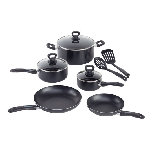WearEver Comfort Grip 10-Piece Cookware Set
