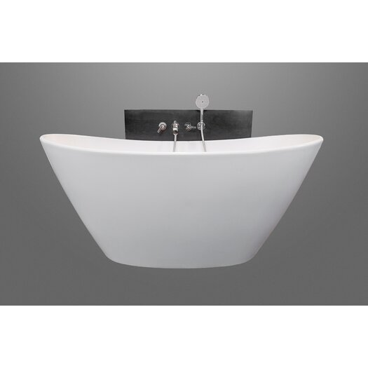 "Aquatica PureScape 64"" x 34"" Soaking Bathtub"