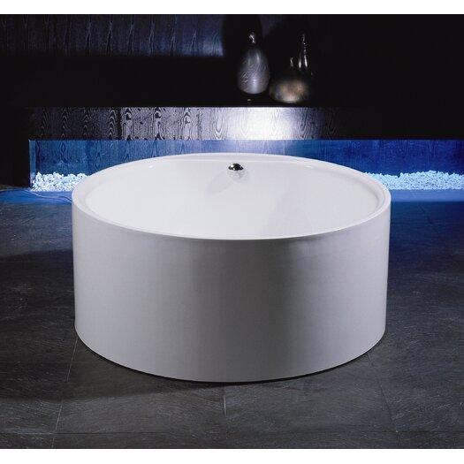 "Aquatica PureScape 54.15"" x 54.15"" Freestanding Acrylic Bathtub"