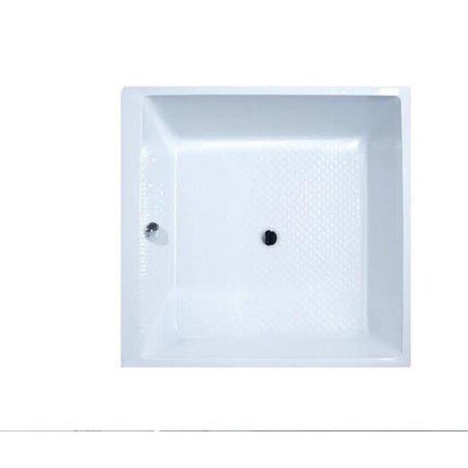 "Aquatica PureScape Acrylic 52"" x 52"" Soaking Bathtub"