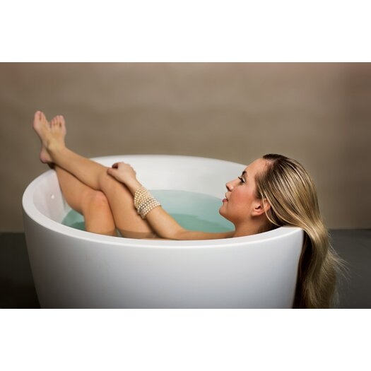 "Aquatica Sensuality 70"" x 35"" Soaking Bathtub"