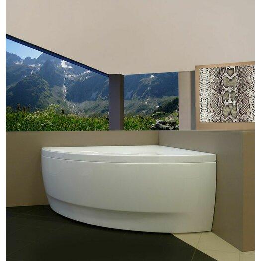 """Aquatica Olivia 55"""" x 55"""" Soaking Bathtub"""