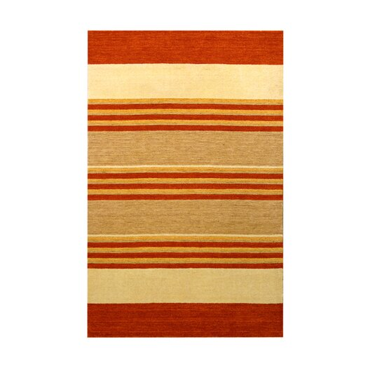 Noble House Fantasy Rust/Ivory Area Rug