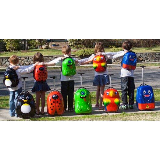 TrendyKid Travel Buddies 2 Piece Popo Parrot Luggage Set