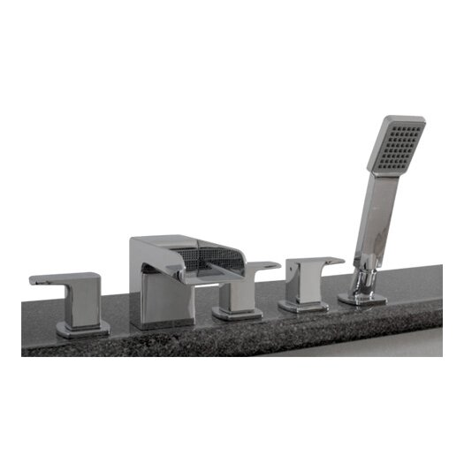 Artos Kascade Deck Mount Roman Tub Faucet Trim