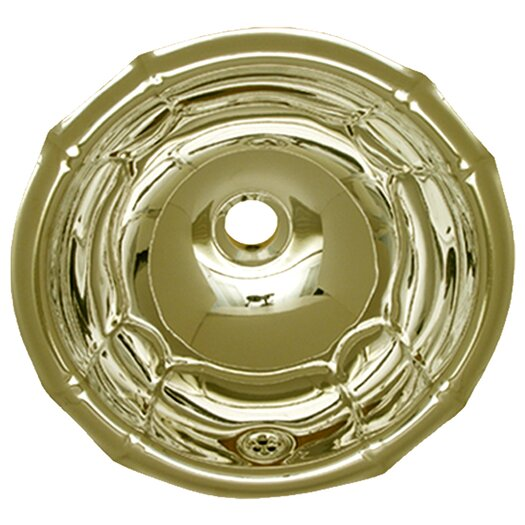 Whitehaus Collection Decorative Round Bathroom Sink