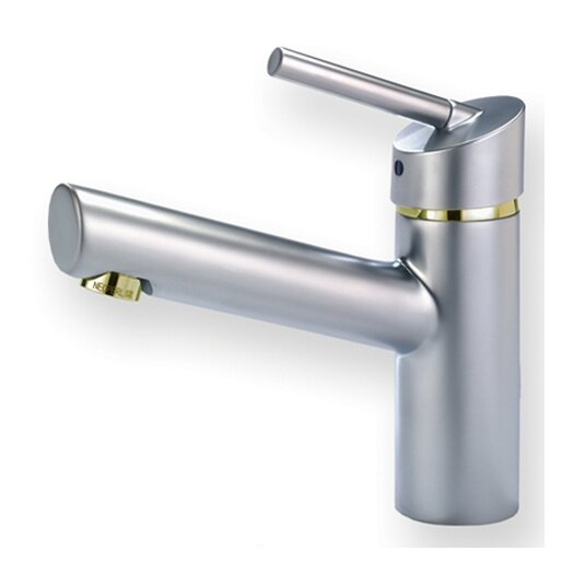 Whitehaus Collection Centurion Single Hole Bathroom Faucet with Single Handle