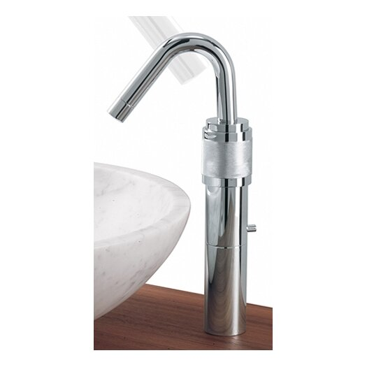 Whitehaus Collection Gesto Single Hole Elevated Bathroom Faucet Less Handles