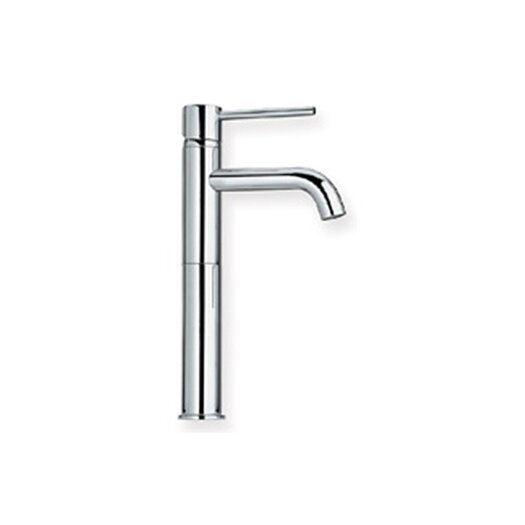 Whitehaus Collection Luxe Single Hole Bathroom Faucet with Single Handle