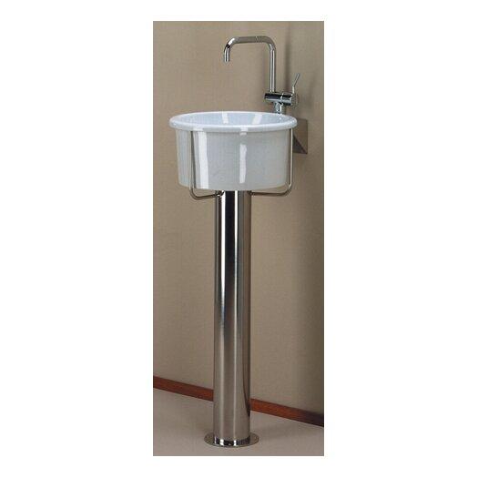 Whitehaus Collection New Generation Pedestal Bathroom Sink