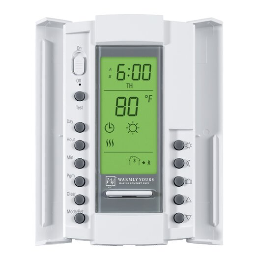 WarmlyYours SmartStat Programmable Digital Thermostat for In-Floor Heating System