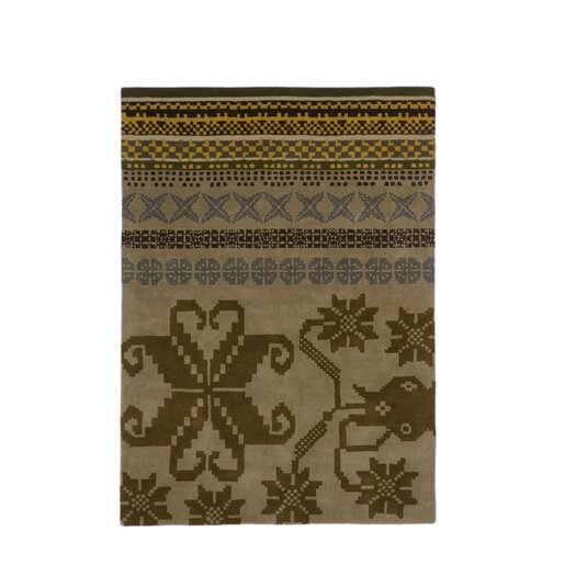 Nanimarquina Folk Brown Area Rug