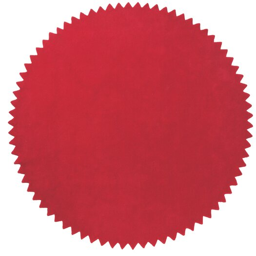 Nanimarquina News Red Area Rug