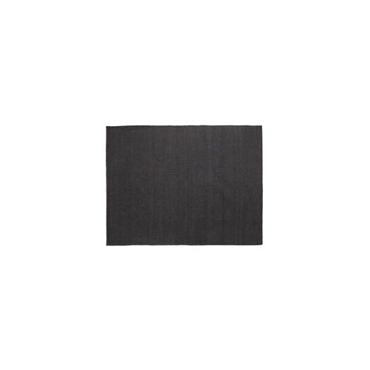Vegetal Black Area Rug