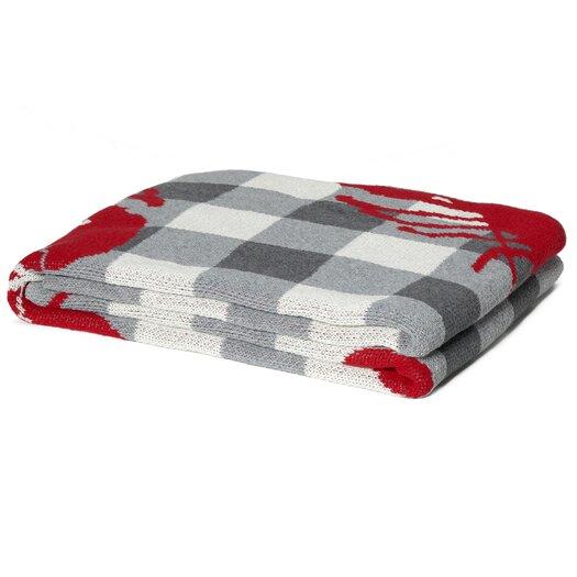 In2Green Eco Designer Lobster Picnic Throw Blanket