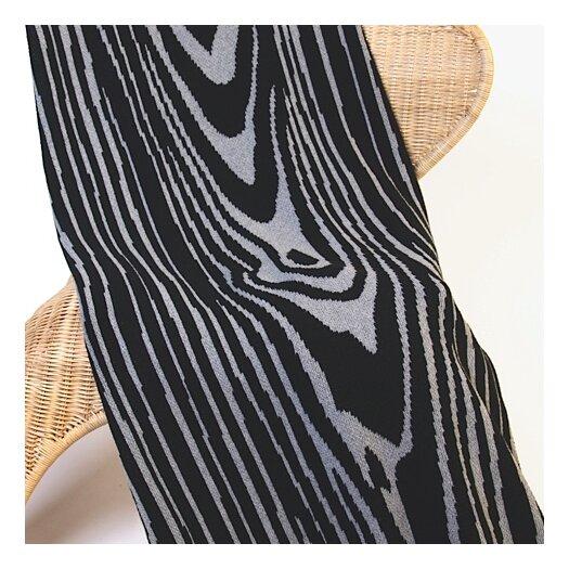In2Green Eco Woodgrain Cotton Throw Blanket