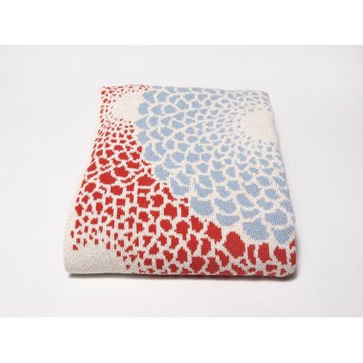 In2Green Eco Zinnia Throw Blanket