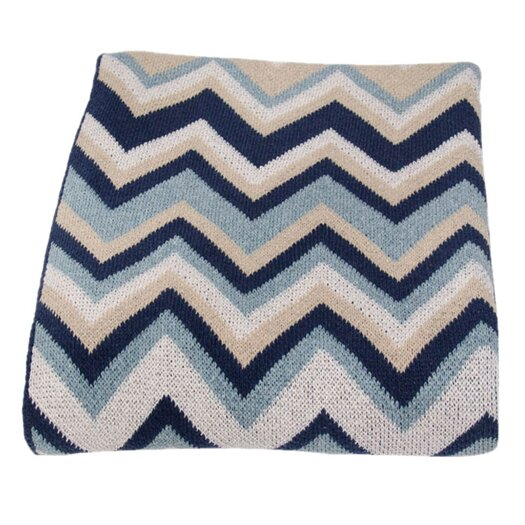 In2Green ZigZag Throw Blanket