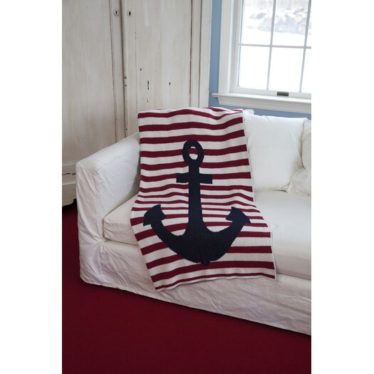 In2Green Eco French Stripe Cotton Yarn Throw