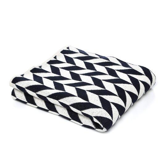 In2Green Eco Chevron Throw Blanket