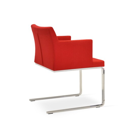 Soho Lounge Flat Arm Chair