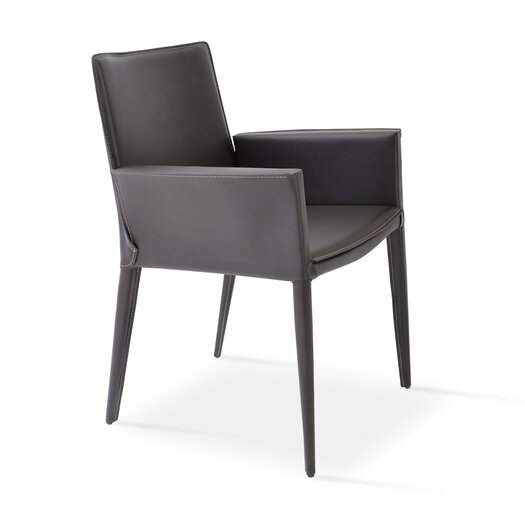 sohoConcept Tiffany Leather Armchair