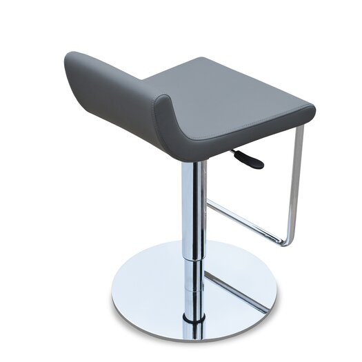 Sohoconcept Adjustable Height Swivel Bar Stool Allmodern