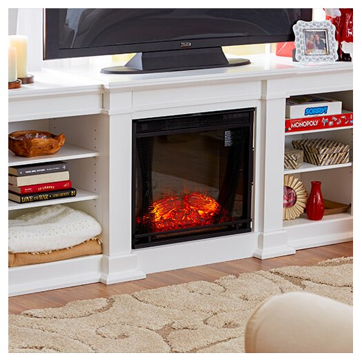 Real Flame Fresno Tv Stand With Electric Fireplace Allmodern