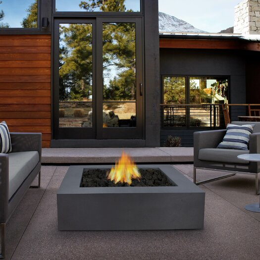 Real Flame Mezzo Fire Pit Table