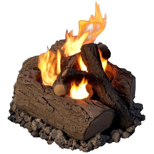 Real Flame Steel Outdoor Log Set