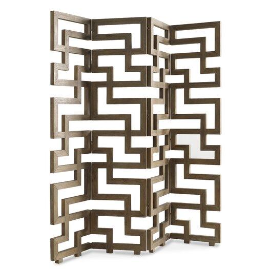 "Brownstone Furniture 77"" Atherton 4 Piece Screen Room Divider"