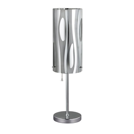 "Canarm Cloe 18"" H Table Lamp with Drum Shade"