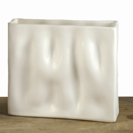 Alex Marshall Studios Mini Rectangle Ripple Vase