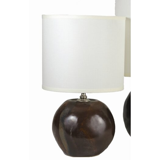 alex marshall studios sphere 18 39 39 h table lamp with drum